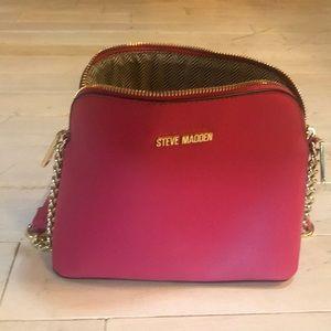 Steve Madden Bags - Steve Madden Hot Pink Crossbody Purse
